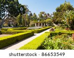 Balboa Park in San Diego - stock photo