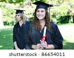 pretty young woman at...   Shutterstock . vector #86654011