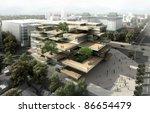 3d building | Shutterstock . vector #86654479