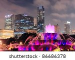 Chicago Skyline With...