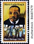 usa   circa   1979  a stamp...   Shutterstock . vector #86687479
