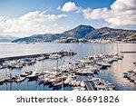 Yacht Marina In Lipari  Italy