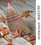 Old Fashioned Jackstraw Broom...