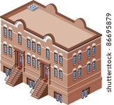 house2 | Shutterstock .eps vector #86695879