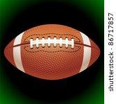 vector american football | Shutterstock .eps vector #86717857