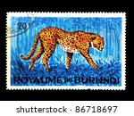 burundi   circa 1964  stamp... | Shutterstock . vector #86718697