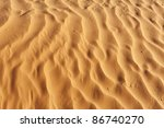 Detail Of A Beautiful Desert...