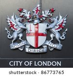Sign Of The City Of London Wit...