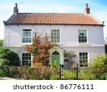 country house  yorkshire ... | Shutterstock . vector #86776111