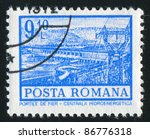 romania   circa 1972  stamp...   Shutterstock . vector #86776318