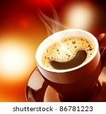 espresso coffee | Shutterstock . vector #86781223