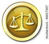 justice icon | Shutterstock . vector #86817307