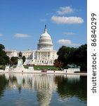 washington dc capitol  usa | Shutterstock . vector #86840299