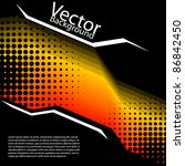vector abstract background | Shutterstock .eps vector #86842450