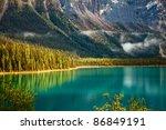 Emerald Lake. Yoho National...