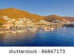 merichas port  kythnos island ... | Shutterstock . vector #86867173