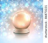 vector christmas card... | Shutterstock .eps vector #86873221
