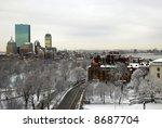 Boston Landscape After A...