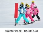 Girls On The Ski