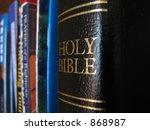 holy bible | Shutterstock . vector #868987