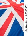 detail of silky national flag... | Shutterstock . vector #86903359
