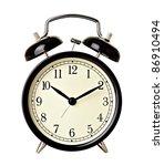 close up of  a bell clock on... | Shutterstock . vector #86910494