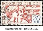 gdr   circa 1969  a stamp... | Shutterstock . vector #86915066