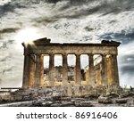 Artistic View Of Parthenon ...