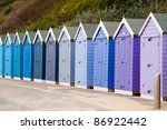 Colorful  Colourful Beach Huts...