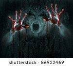 Dark Horror Scene Of A Demon O...