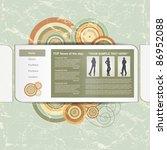 circle design template  vector | Shutterstock .eps vector #86952088