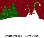 christmas tree | Shutterstock . vector #86957905