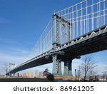 dynamic city view of new york ... | Shutterstock . vector #86961205
