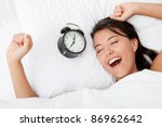 time to wake up for a beautiful ... | Shutterstock . vector #86962642