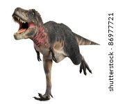 Tarbosaurus Running