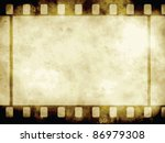 Vintage Background With Film...