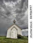 Old Country Church In...