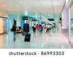 airport terminal | Shutterstock . vector #86993303
