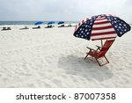 A Beach On The Alabama Gulf...