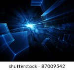 abstract technology background | Shutterstock . vector #87009542
