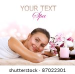 spa woman isolated on white | Shutterstock . vector #87022301