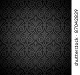 Seamless Gothic Damask...