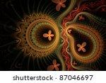 fractal background | Shutterstock . vector #87046697