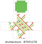 box template | Shutterstock .eps vector #87051278