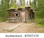 Old Yukon Log Cabin Hidden In...