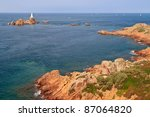 Corbiere Lighthouse And Rocky...
