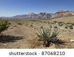 red rock canyon | Shutterstock . vector #87068210