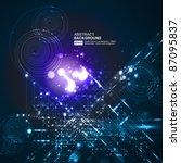 abstract background vector | Shutterstock .eps vector #87095837