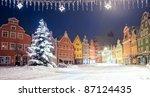Christmas Night In German Town...