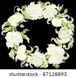 beautiful decorative framework... | Shutterstock . vector #87128893